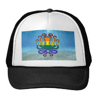 GLBT Pride Octopus Mesh Hats