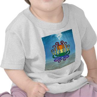 GLBT Pride Octopus Tshirts