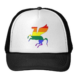GLBT Pride Pegasus Hats