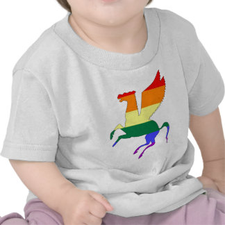 GLBT Pride Pegasus Tee Shirt