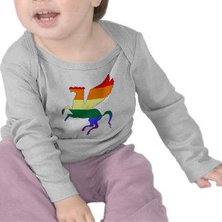 GLBT Pride Pegasus Tee Shirts