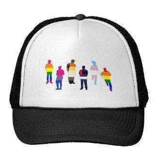 GLBT Pride People Mesh Hat