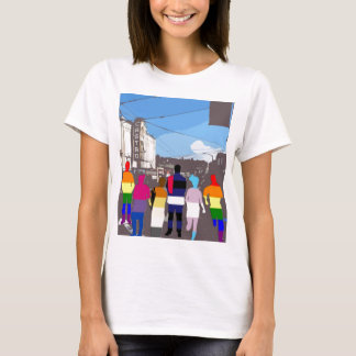 GLBT Pride People in the Castro #2 T-Shirt