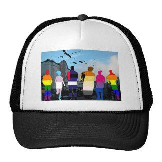 GLBT Pride People in the Castro Hat