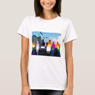 GLBT Pride People in the Castro T-Shirt