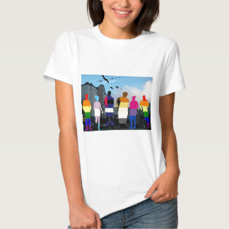 GLBT Pride People in the Castro Tshirts