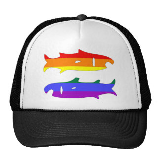 GLBT Pride Pisces Feb 20 - March 20 Trucker Hats