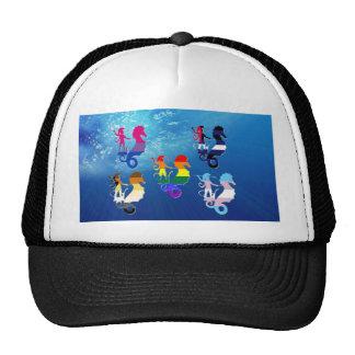 GLBT Pride School of Seahorses Trucker Hat