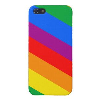 GLBT Pride Stripes 2 Case For iPhone 5