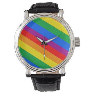 GLBT Pride Stripes 2 Watch
