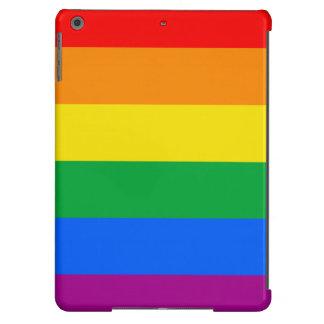GLBT PRIDE STRIPES DESIGN - 2014 PRIDE.png iPad Air Cover