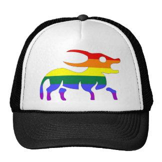 GLBT Pride Taurus April 21 - May 21 Mesh Hat