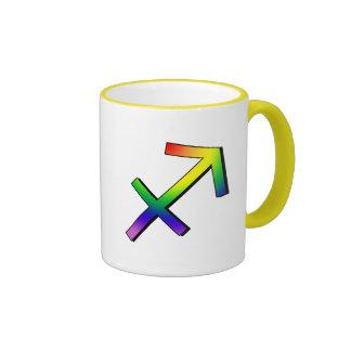 GLBT Sagittarius Coffee Mug