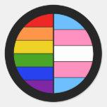 GLBT Solidarity Sticker