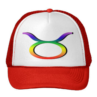 GLBT Taurus Trucker Hats