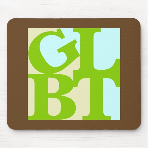 GLBT Tropo Pop Mousepad