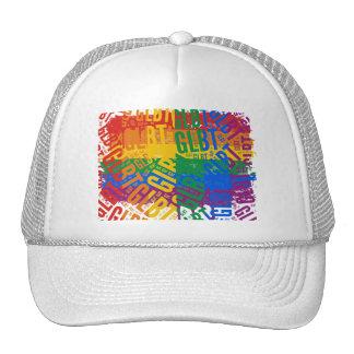 GLBT WORD PATTERN COLOR -.png Mesh Hat