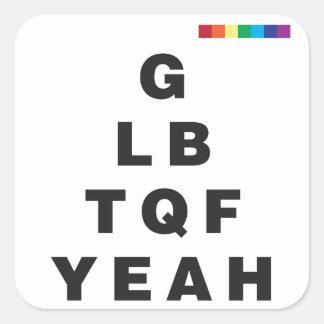GLBTQF Yeah! Sticker