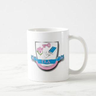 GLD Crest Basic White Mug