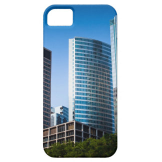 Gleaming skyscrapers in Chicago's financial iPhone 5 Case