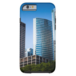 Gleaming skyscrapers in Chicago's financial Tough iPhone 6 Case