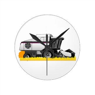 Gleaner Round Clock