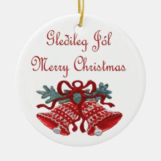 Gledeleg Jol Christmas Ornament