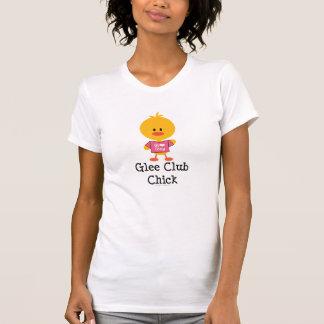 Glee Club Chick Distressed Shirt