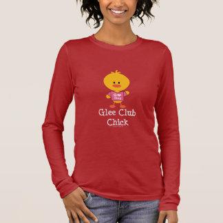 Glee Club Chick Long Sleeve T-shirt