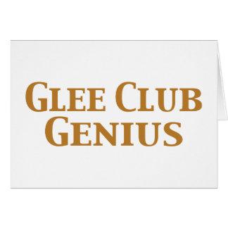Glee Club Genius Gifts Card