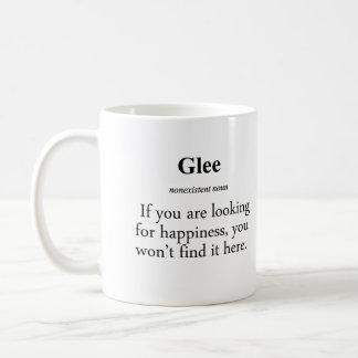 Glee Definition Basic White Mug