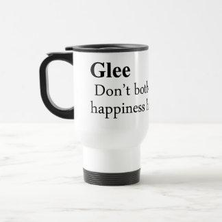 Glee Definition Stainless Steel Travel Mug