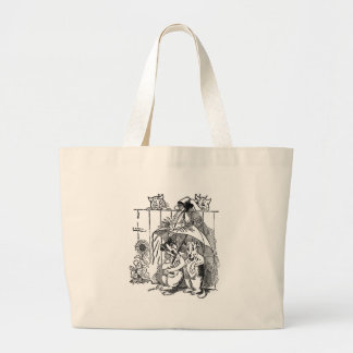 Gleeful Cats Douse Dogs Vintage Louis Wain Bag