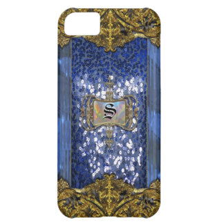 Gleemshore Saph Victorian Monogram iPhone 5C Cases