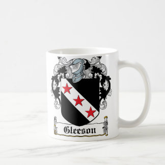 Gleeson Family Crest Coffee Mug