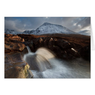 Glen Brittle. Fairy Pool. Card