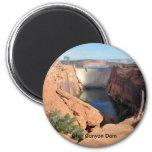 Glen Canyon Dam 6 Cm Round Magnet