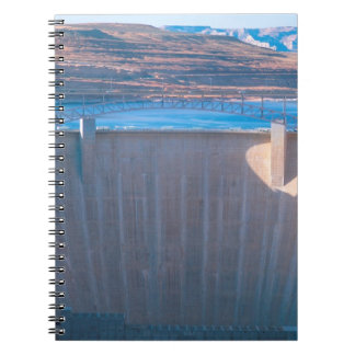 Glen Canyon Dam on the Colorado River at Page, Spiral Notebook
