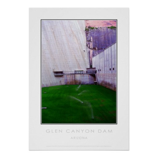 Glen Canyon Dam Posters