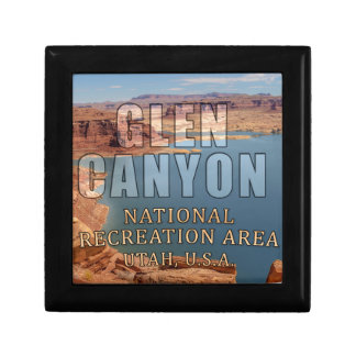 Glen Canyon National Recreation Area Small Square Gift Box