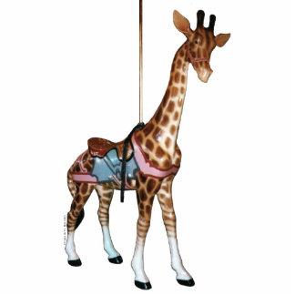 Glen Echo Giraffe Photo Sculpture Decoration