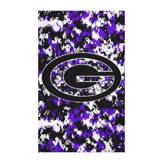 Glen Este Trojans High School Cincinnati Ohio Canvas Print