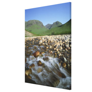 Glen Etive, Highlands, Scotland 2 Canvas Print