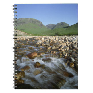 Glen Etive, Highlands, Scotland 2 Spiral Note Books
