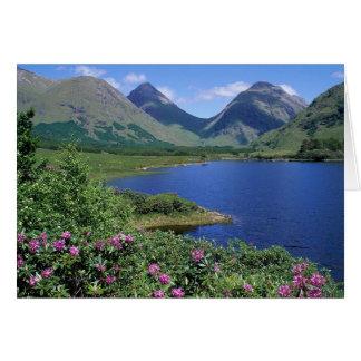 Glen Etive Scotland Card