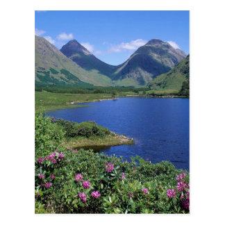 Glen Etive Scotland Postcard