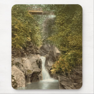 Glen May Waterfall, Peel, Isle of Man, England Mouse Mat
