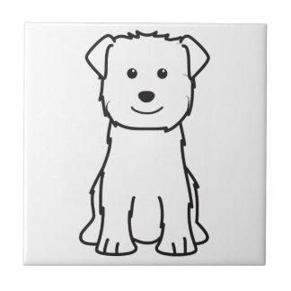 Glen of Imaal Terrier Dog Cartoon Tile