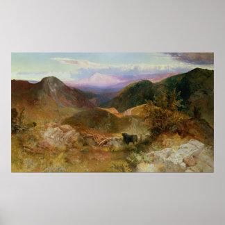 Glen Ogle, Scotland, 1860 Poster