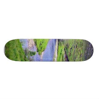 Glen River In Ireland Skate Board